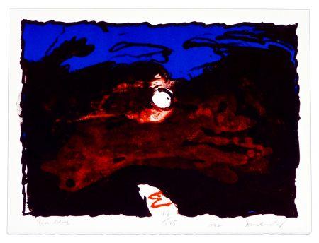 Литография Alechinsky - Trou Blanc