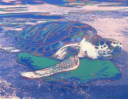 Сериграфия Warhol - TURTLE FS II.360A