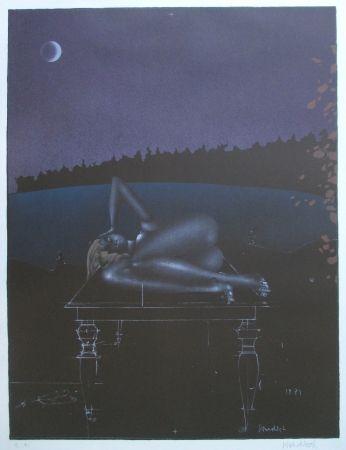 Литография Wunderlich - Twilight 7