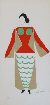Литография Delaunay - Tzara - Le Coeur à Gaz