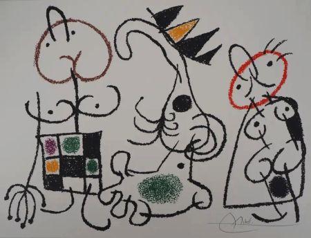 Литография Miró - Ubu aux Baléares - Planche 18