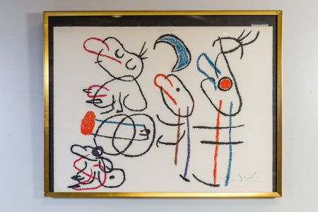Литография Miró - Ubu Aux Baleares