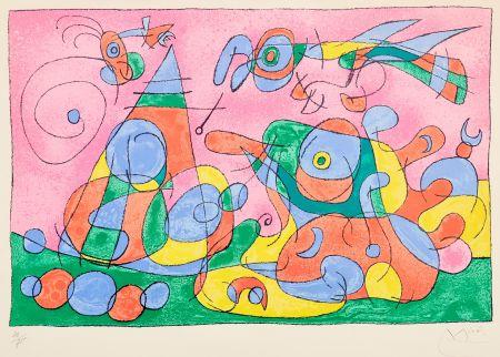 Литография Miró - Ubu Roi
