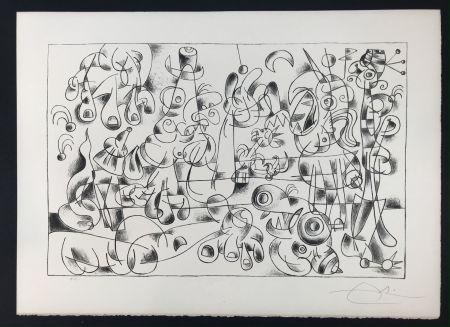 Литография Miró -  Ubu Roi (King Ubu ) from 'Suites por Ubu Roi'