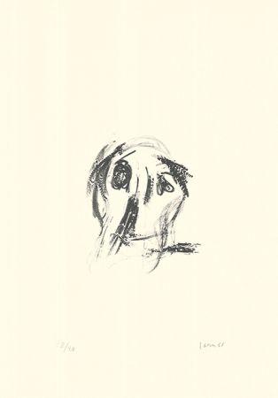 Литография Jorn - Un cruccio da poco