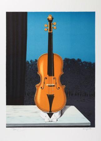 Литография Magritte - Un peu de l'âme des bandits