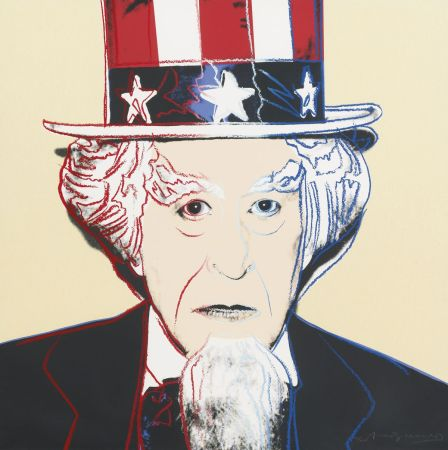 Сериграфия Warhol - Uncle Sam (FS II.259)
