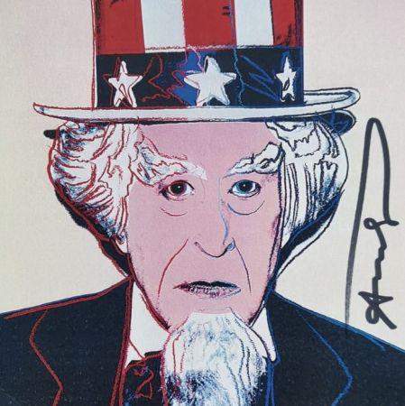 Сериграфия Warhol - Uncle Sam