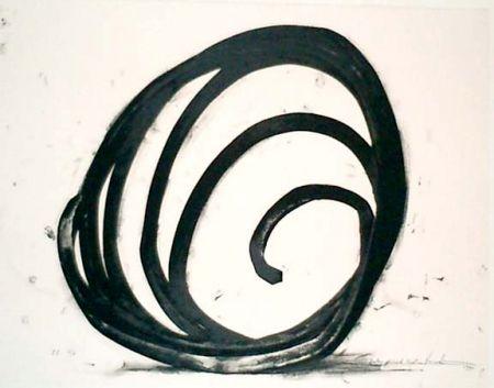 Литография Venet - Undetermined Line 1