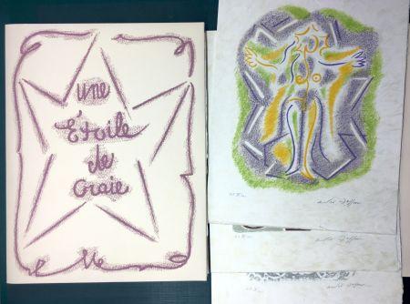 Иллюстрированная Книга Masson - UNE ÉTOILE DE CRAIE. Seize ithographies originales signées d'André Masson