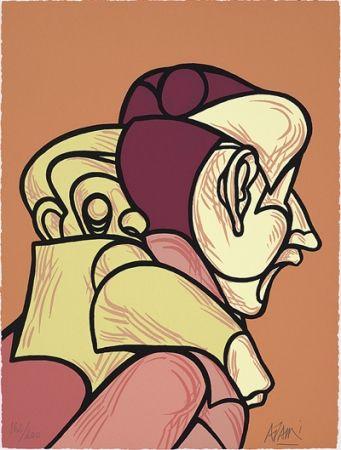 Сериграфия Adami - Une reconquête moderne de l'espace classique