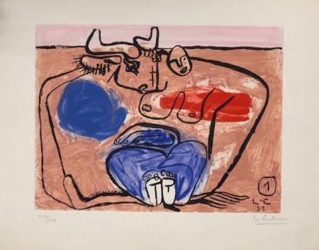 Офорт Le Corbusier - Unite