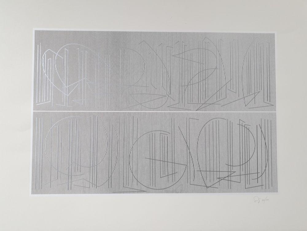 Многоэкземплярное Произведение Soto - Untitled
