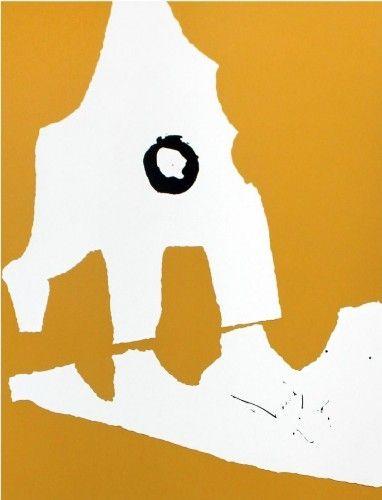 Сериграфия Motherwell - Untitled
