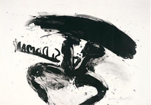 Литография Kounellis - Untitled