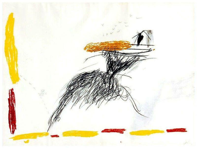 Гравюра Tàpies - Untitled