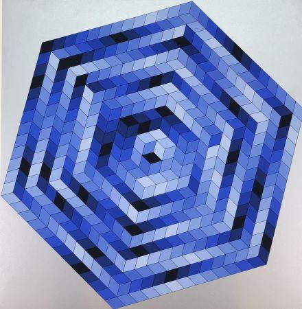 Литография Vasarely - Untitled