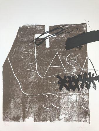 Литография Tàpies - Untitled