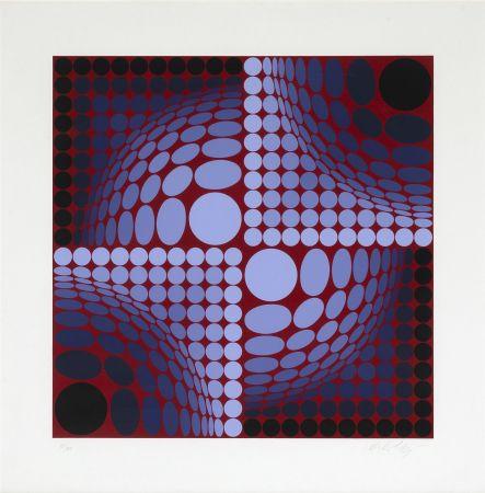 Сериграфия Vasarely - Untitled
