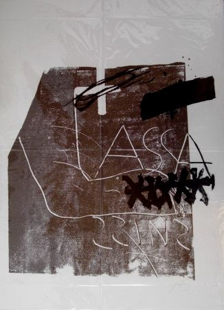 Литография Tàpies - Untitled
