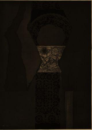 Офорт И Аквитанта Nevelson - Untitled