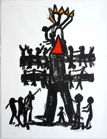 Литография Ionesco - Untitled