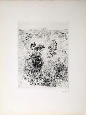 Гравюра Bellmer - Untitled