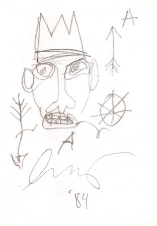 Нет Никаких Технических Basquiat - Untitled
