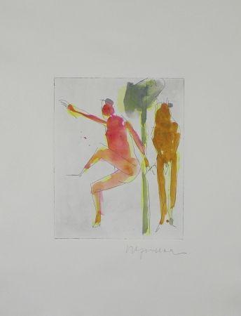 Гравюра Degendorfer - Untitled