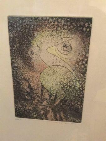 Офорт И Аквитанта Ernst - Untitled