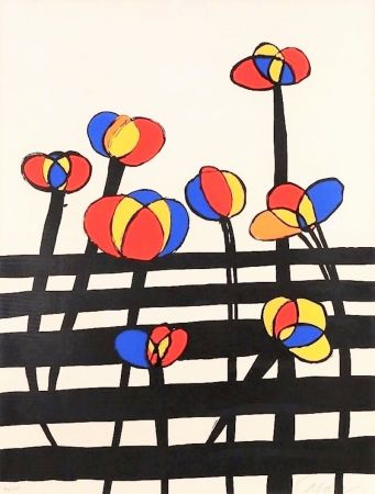 Литография Calder - Untitled