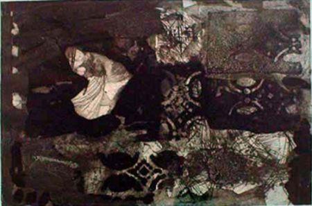 Гравюра Clavé - Untitled