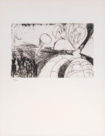 Офорт Whitman - Untitled