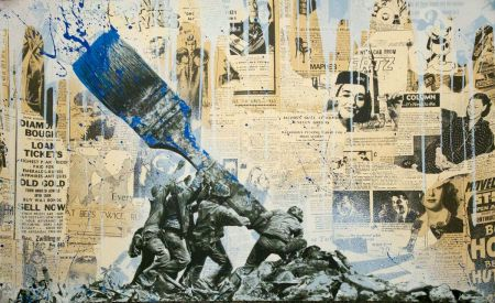 Сериграфия Mr Brainwash - Untitled