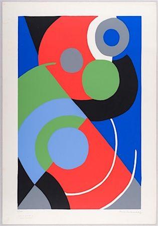 Сериграфия Delaunay - Untitled