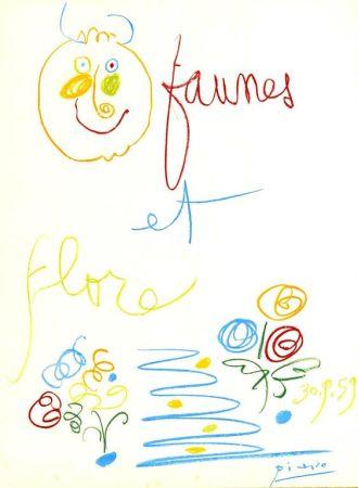 Литография Picasso (After) - Untitled