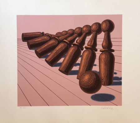 Многоэкземплярное Произведение Vasarely - Untitled