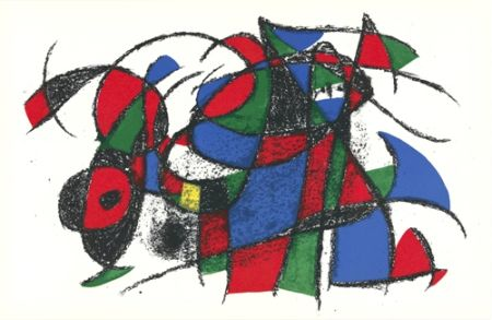 Литография Miró - Untitled