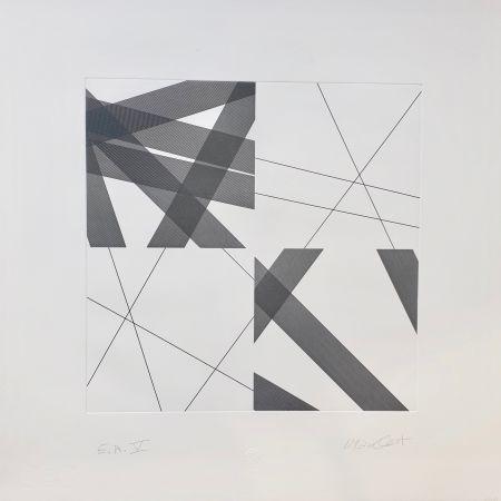 Гравюра Morellet - Untitled