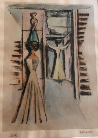 Литография Campigli - UNTITLED