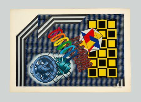 Сериграфия Phillips - Untitled