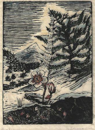 Гравюра На Дереве Schanzenbach - Untitled