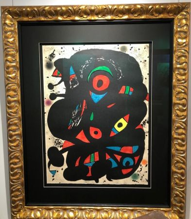 Литография Miró - Untitled
