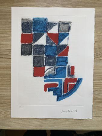 Гравюра Delaunay - Untitled