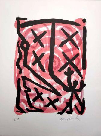 Литография Penck - Untitled