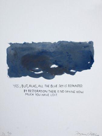 Сериграфия Pettibon - Untitled-Yes But Alas