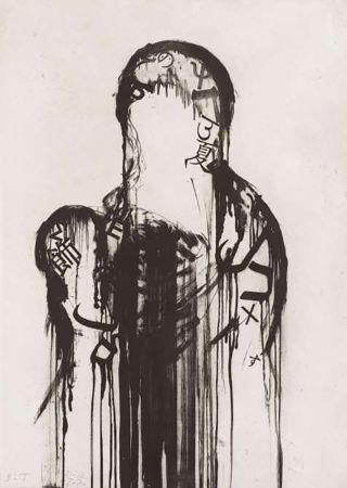 Гравюра Plensa - Untitled #1