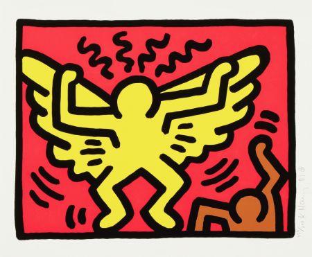 Сериграфия Haring - Untitled (Angel)