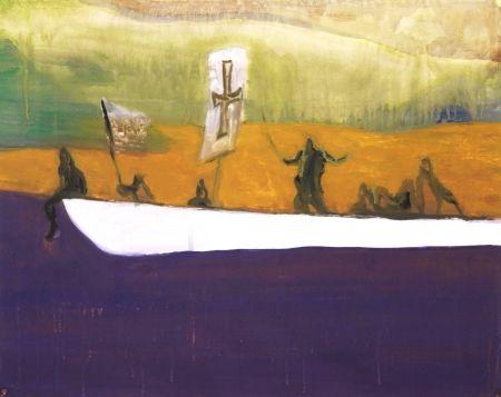 Акватинта Doig - Untitled (Canoe)