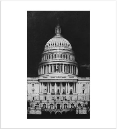 Многоэкземплярное Произведение Longo - Untitled (Capitol Detail)